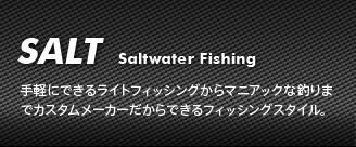 ソルトウォーターでの攻略法・釣果などを動画、ブログで楽しくご紹介します。
